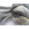 Umělé vlákno šedé - polyester