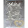 Polystyrenové hvězdy - 6 ks