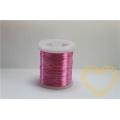 Měděný drátek růžový - ø 0,3 mm, délka cca 9 m