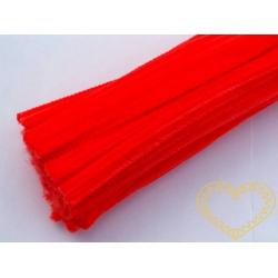 Modelovací chlupatý drátek ostře oranžový