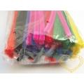 Modelovací drát chlupatý - základní barvy - 100 ks
