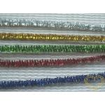 Metalický chlupatý drátek - modelovací drát - délka cca 30cm - různé barvy