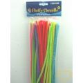 Modelovací drátek chlupatý neonový - sada 50 různobarevných kusů