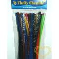 Modelovací drátek chlupatý - základní barvy - 50 ks
