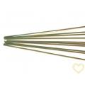 Drát zelený vázací sekaný - svazek 10 kusů