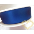 Stuha atlasová modrá- šíře 24 mm - 25 m
