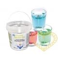 Křišťálově čirý svíčkový gel - 1000 ml