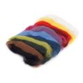 Ovčí rouno barvené - vlna sada 12 barev 50 g