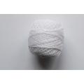 Perlovka - bílá vyšívací příze - 85 m