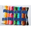 Vyšívací bavlnky Norma - sada 23 odstínů