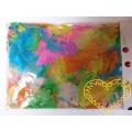 Barevné peří pastelové - 14 g