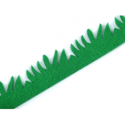 Tráva z plsti - rozměr 3 x 100 cm