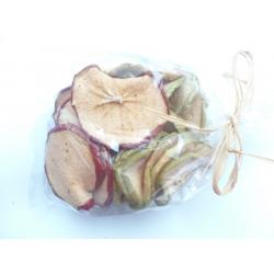 Sušená jablka na aranžování 100 g