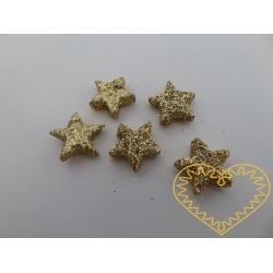 Zlaté hvězdičky - 100 ks