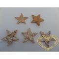 Březové hvězdičky - 300 ks