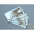 Dárkový celofánový sáček stříbrný 5 x 10 cm - 100 kusů