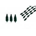 Stromeček - chlupatý drát 46 mm - 5 ks