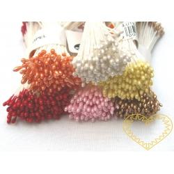 Pestíky květinové 1-2 mm - 20 hlaviček