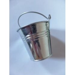 Plechový kyblíček - kbelík 5 cm