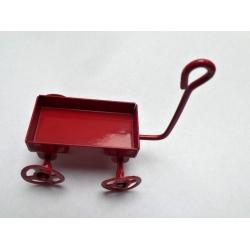 Vozík - dekorace miniatura