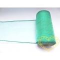 Organza tyrkysová - šíře 12 cm