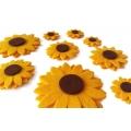 Slunečnice - kreativní sada 9 květů