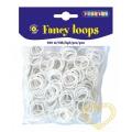 Gumičky loops bílé - 500 ks
