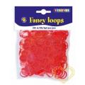 Gumičky loops červené - 500 ks