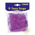 Gumičky loops fialové - 500 ks