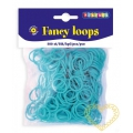 Gumičky loops tyrkysové - 500 ks