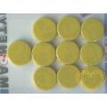 Magnet žlutý - Ø 2 cm - sada 10 kusů
