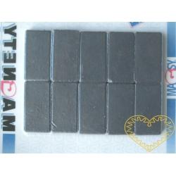Magnet obdélný - sada 10 kusů