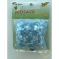 Pryskyřicová mozaika - modrý mix - čtverečky 0,5 x 0,5 cm - balení 45 g