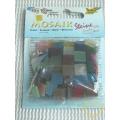 Ledová mozaika - mix barev - čtverečky 1 x 1 cm - balení 45 g