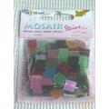 Lesklá mozaika - mix barev - čtverečky 1 x 1 cm - balení 45 g