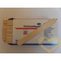 Dřevěné lékařské špachtle Hartmann - 100 ks
