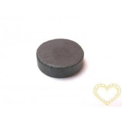 Šedý kulatý magnet - Ø 16 mm
