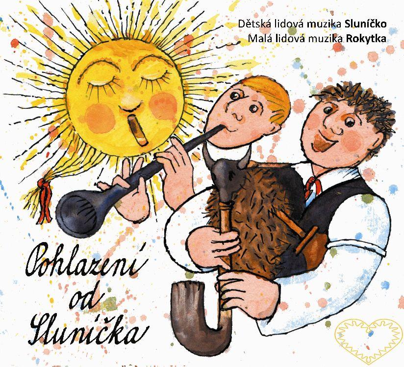 Album Pohlazení od Sluníčka je společnou nahrávkou Dětské lidové muziky Sluníčko, založené v roce 2006, a kapely s názvem Malá lidová muzika Rokytka.