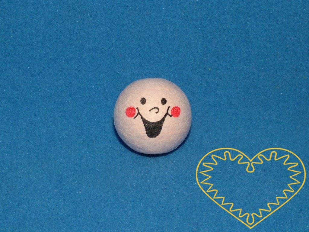 Chechtálek - balení obsahuje 10 ks vatových kuliček tělové barvy ø 22 mm s tiskem lidského obličeje s výrazným otevřeným úsměvem. Vhodné k přípravě dekorací, lepení trojrozměrných figurek, panenek, panáčků, malých prstových maňásků či loutek, aranžov