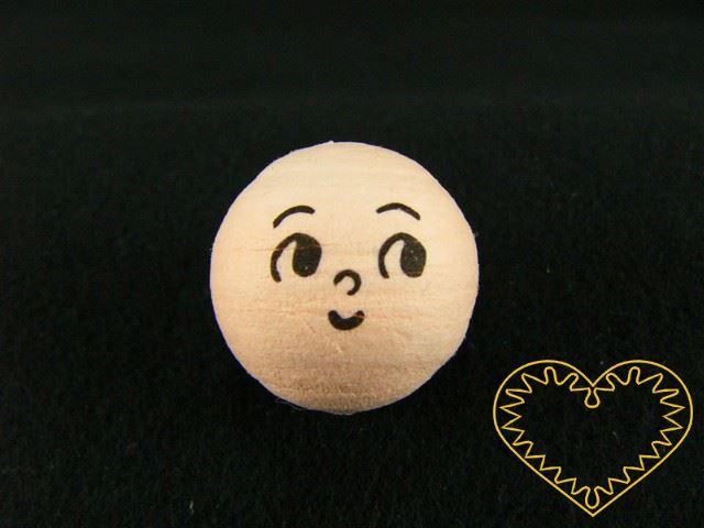 Hlavička vatová - panenka ø 19 mm - 10 ks. Vatová kulička tělové barvy s tiskem lidského obličeje.Vhodné k přípravě dekorací, lepení trojrozměrných figurek, panenek, panáčků, malých prstových maňásků či loutek, aranžování, tvoření (i s dětmi).