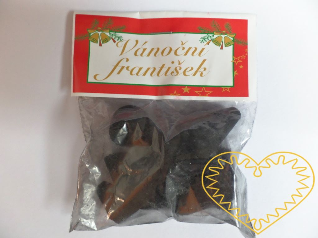 František - vánoční vůně - 5 ks. František je malý vonný kužel ze směsi páleného dřevěného uhlí a kadidla. Po zapálení vydává specifickou vůni typickou pro vánoční čas.